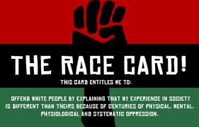 NAACP Race Card